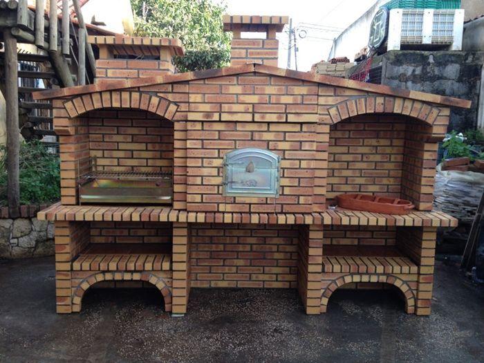 Hornos y barbacoas barbacoa rustica fr003f - Barbacoas rusticas de obra ...